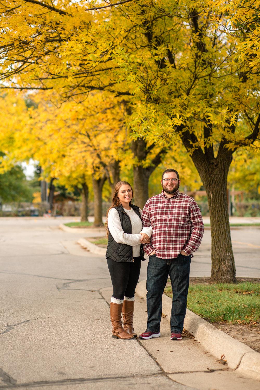 Newton Iowa engagement wedding photographers Amelia