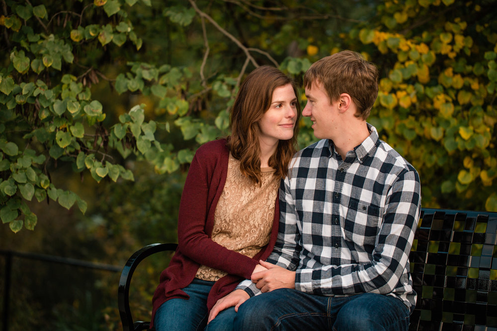 des Moines wedding and engagement photos for the in love and adventurous couples