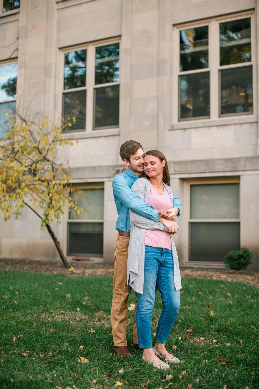 NEWBO engagement photos Cedar Rapids downtown photographers amelia renee