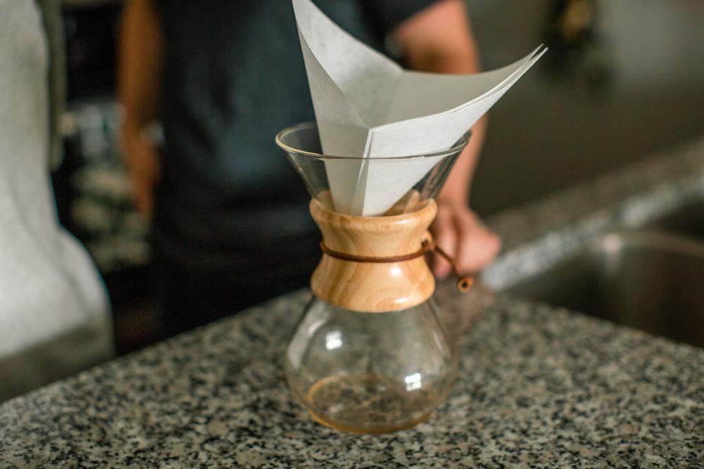 chemex coffee intimate anniversary photos