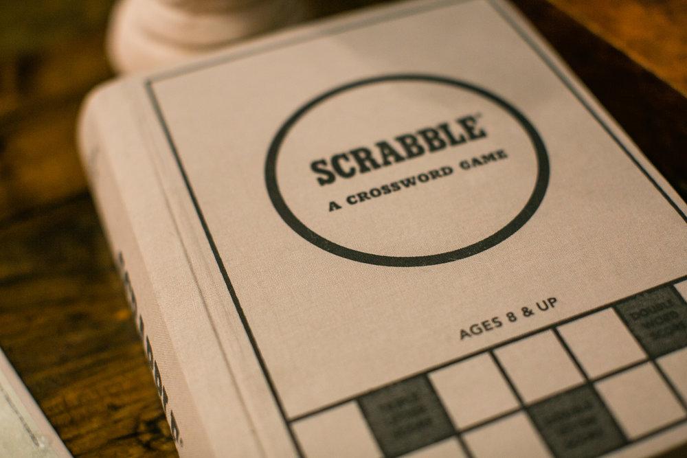 scrabble poem proposal in coffee shop ideas