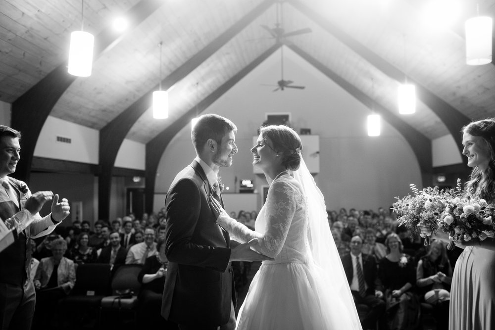 first_kiss_wedding_epic_black_and_white_photos