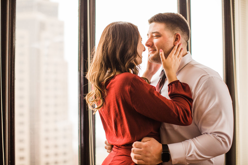marriott downtown des moines wedding photography