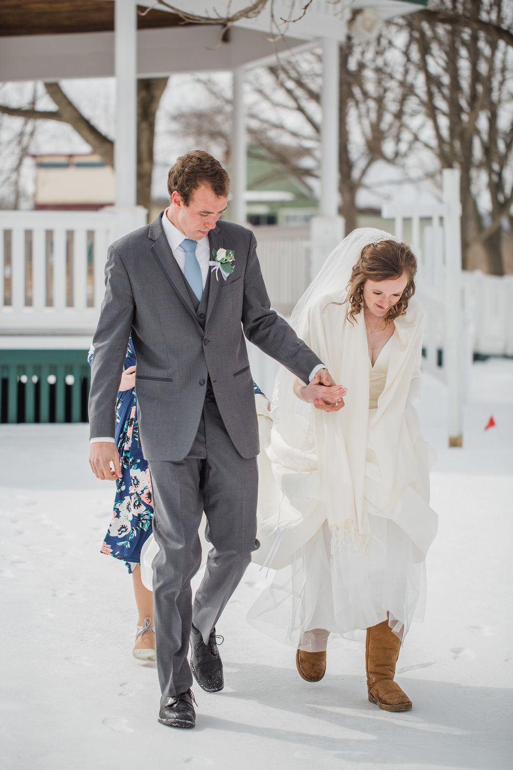 what to wear for your winter wedding