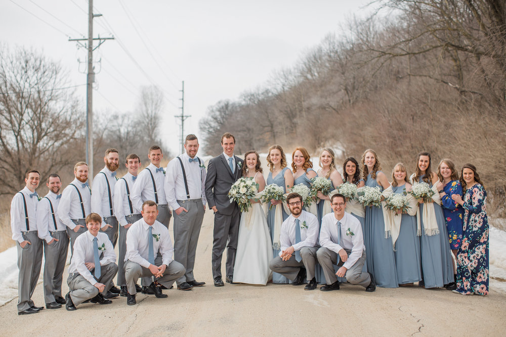 tips for planning your winter wedding in iowa