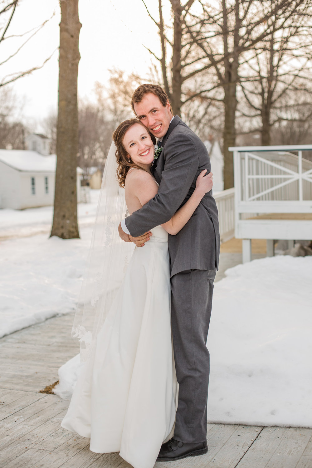 Iowa City natural light and airy fine art wedding photographers