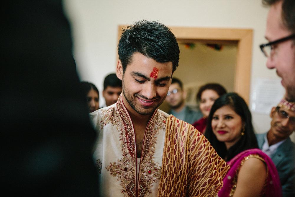 Iowa wedding photography temple ceremony Madrid Hindu temple center