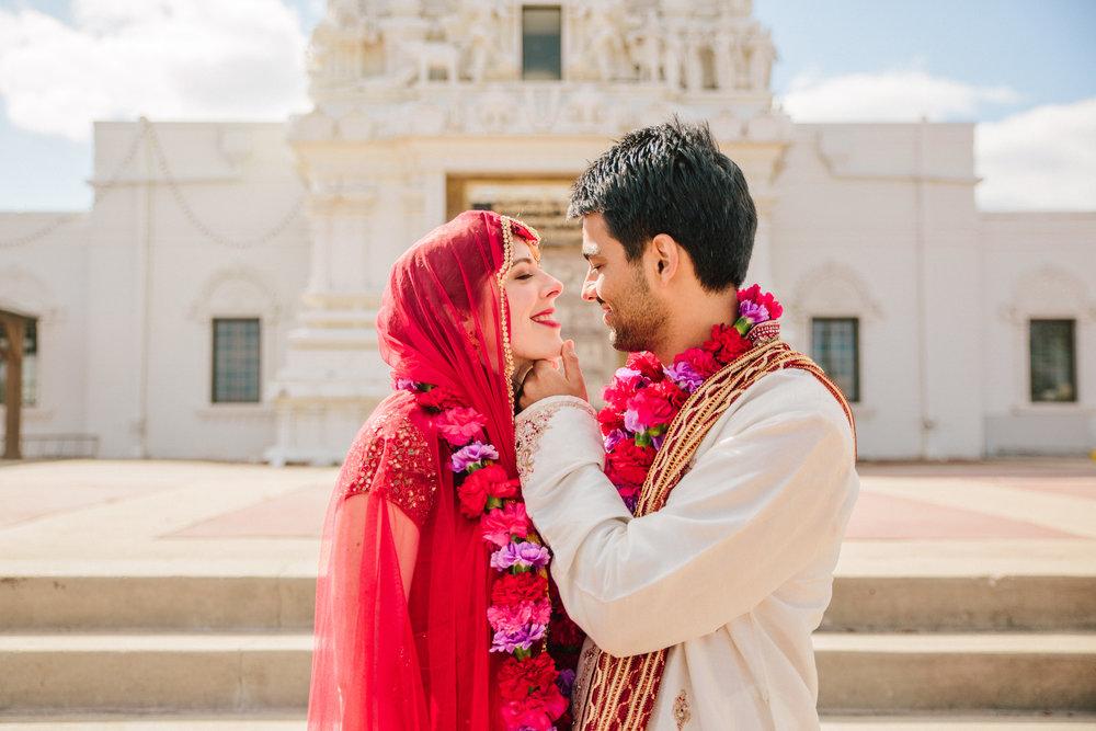 Des Moines Iowa Cross Cultural   Indian Wedding