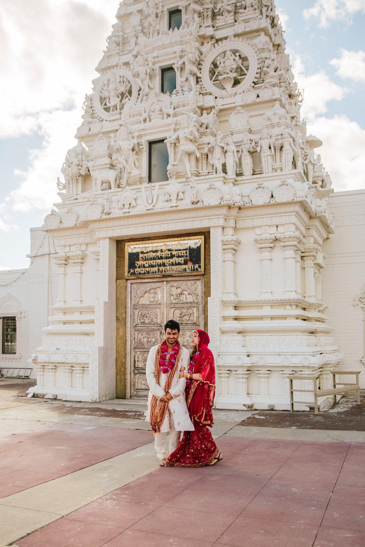 Cross Cultural   Indian Wedding in Madrid Iowa near Des Moines