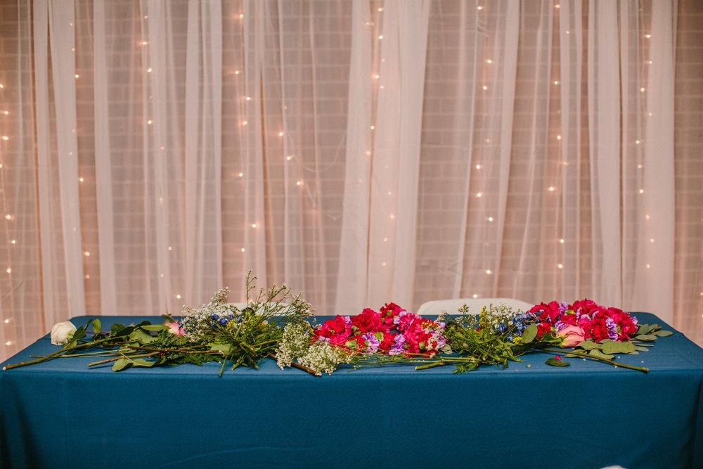Des Moines Johnston Lions Club wedding reception
