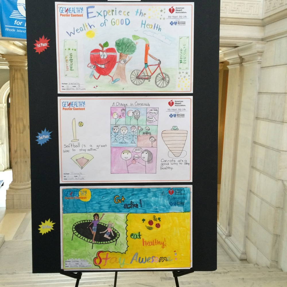 AHA Heart Healthy Poster Winners