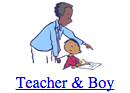 Teacher & Boy