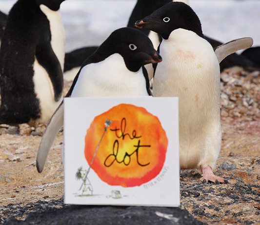 Penguins With The Dot Book