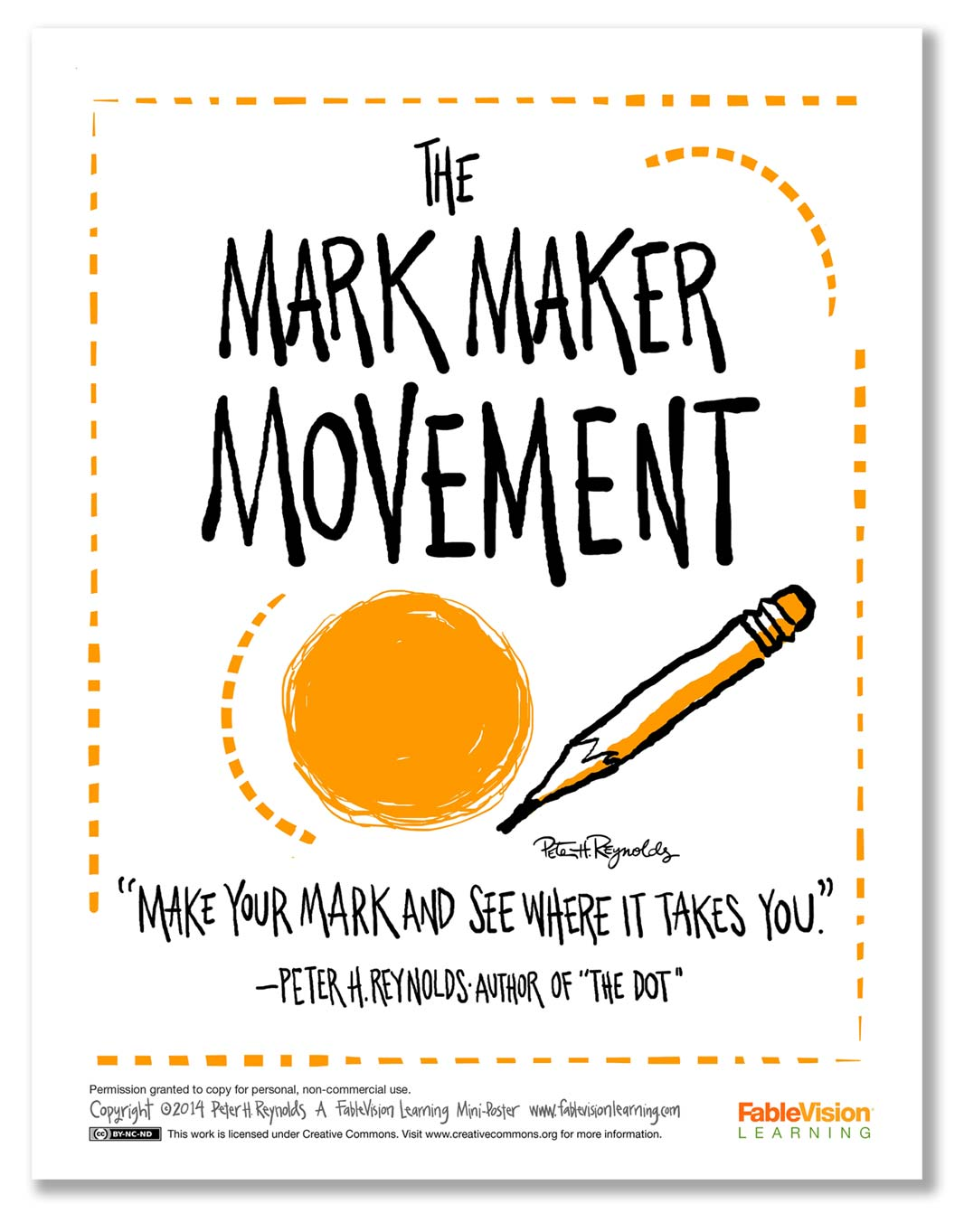 The Mark Maker Movement Fablevision Learning