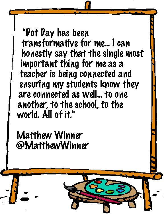 Matthew Winner Dot Quote