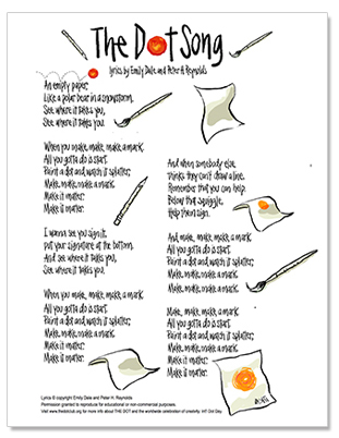 The Dot Song Lyric Sheet