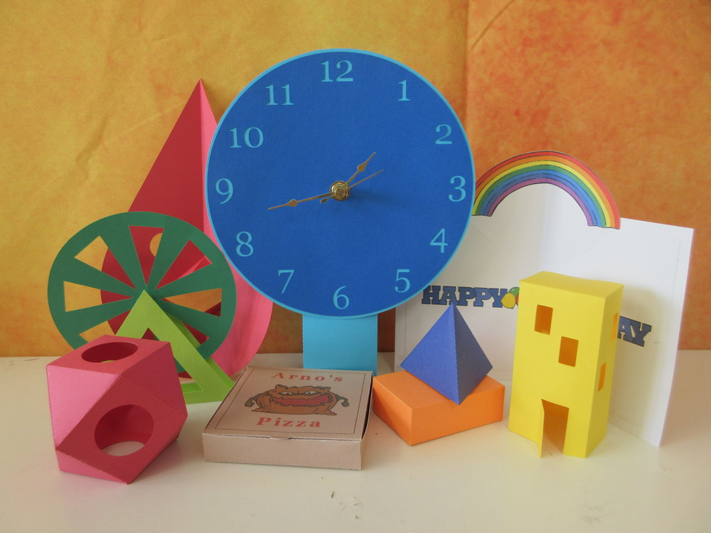 Check out all of these activities, which have all been created from 65lb Cardstock.