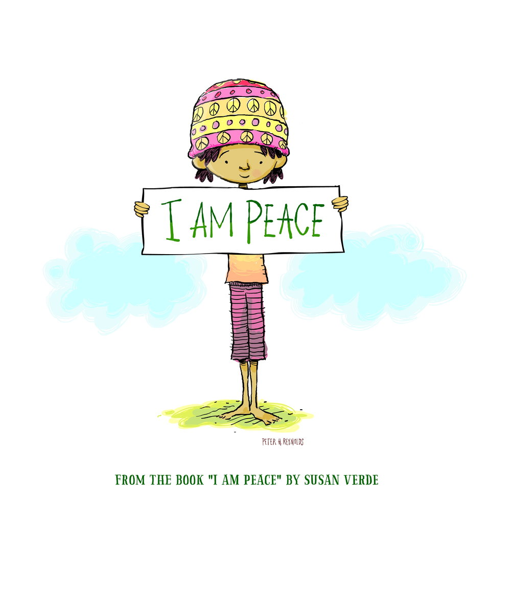 I AM PEACE_poster - sign reynolds verde .jpg