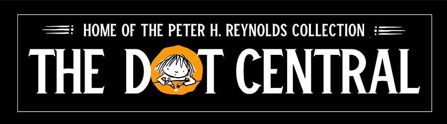 Autographed Peter H. Reynolds' books are available at The Dot Central.