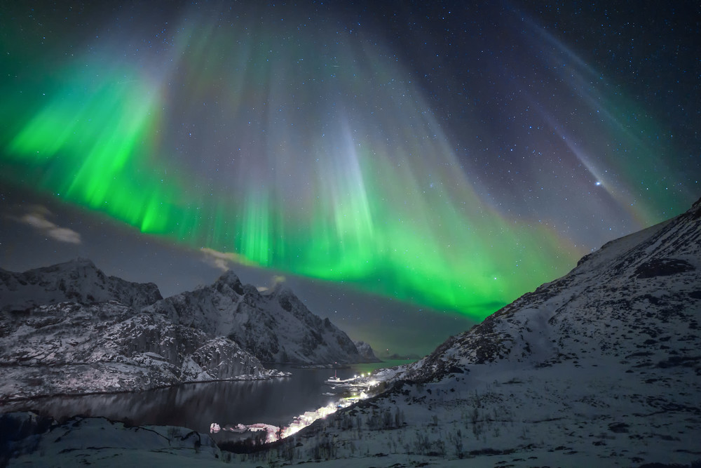 Norway Lofoten Northern Lights