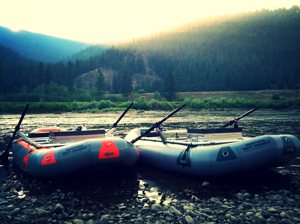 Montana Raft Frames