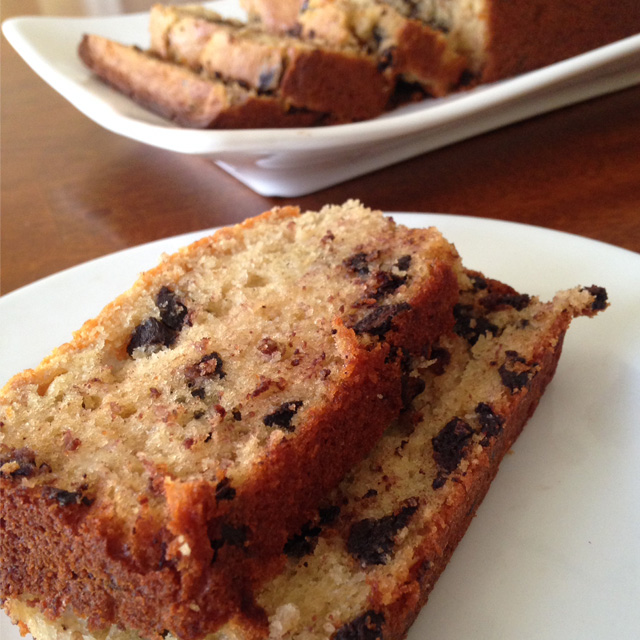 Healthy Breakfast or Dessert Banana Bread