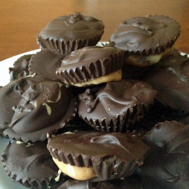 Healthy Protein Peanut Butter Cups