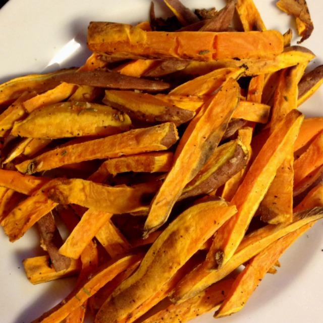 rosemary garlic sweet potato fries