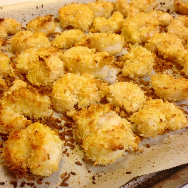 Crispy Shrimp Dinner