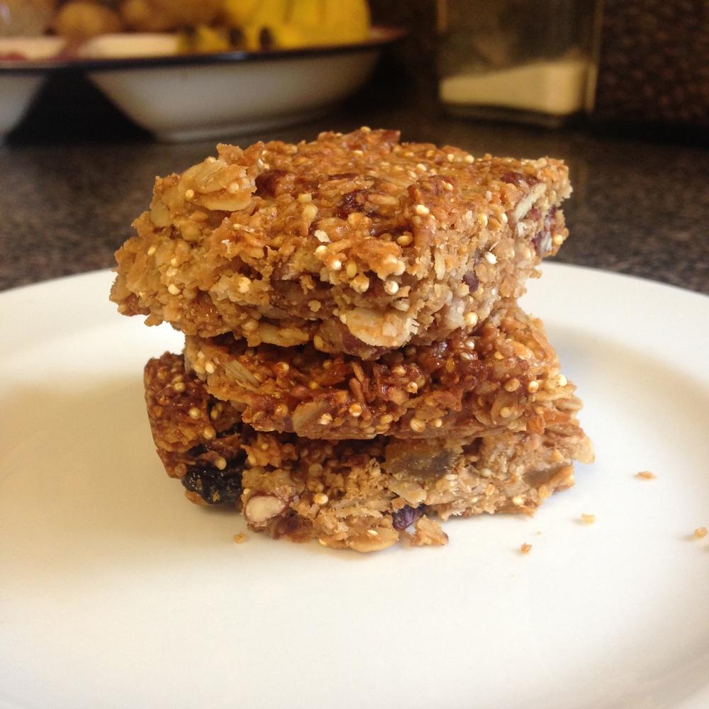 Quinoa Protein Granola Bars