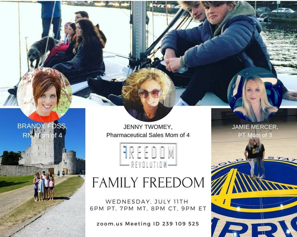 Online Health Event - Family Freedom