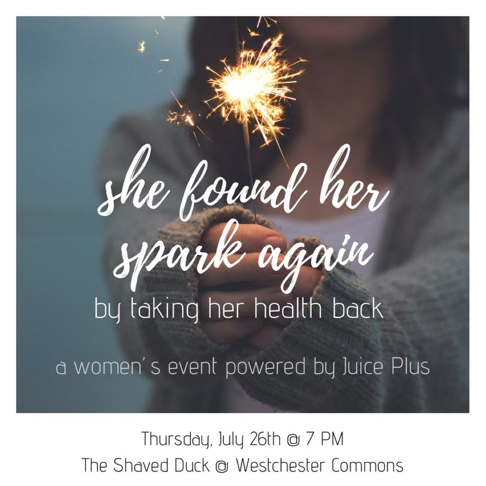 Take Back Your Health - Women's Event
