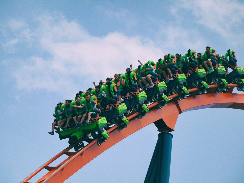 Roller coaster Fearless