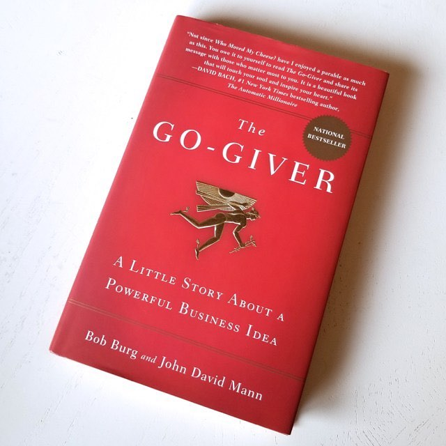 —𝑩𝒐𝒐𝒌 𝑶𝒇 𝑻𝒉𝒆 𝑴𝒐𝒏𝒕𝒉 ⠀⠀⠀⠀⠀⠀⠀⠀⠀ So excited for our book clubs new read The Go-Giver ⠀⠀⠀⠀⠀⠀⠀⠀⠀ Who has read It and what do you think? #motivationmonday