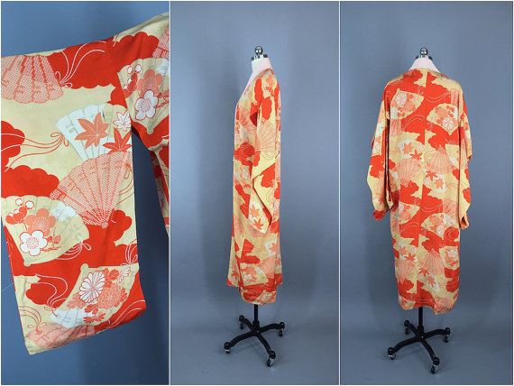 You can purchase this vintage kimono for $149- from   This Blue Bird