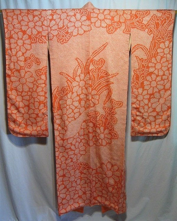 You can purchase this vintage kimono for $550- from  KyotoKimono