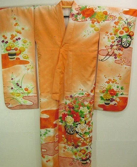 You can purchase this vintage kimono for $330- from  KyotoKimono