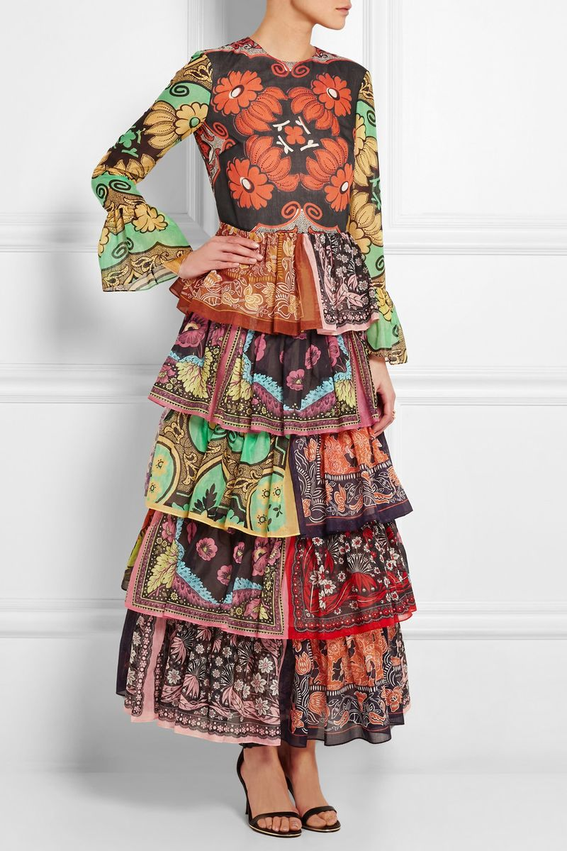 You can purchase this new Valentino gown for $7,990- from  Net-A-Porter