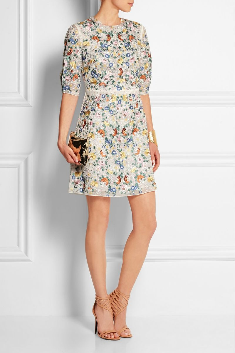 You can purchase this new Vilshenko dress for $2,260- from  Net-A-Porter