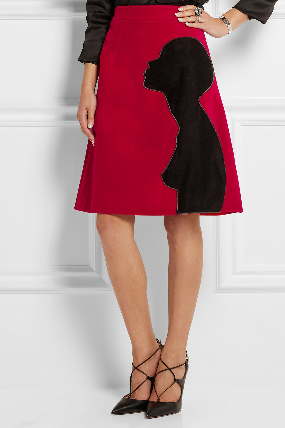 You can purchase this new skirt by Christopher Kane for the sale price of $406- from  Net-A-Porter