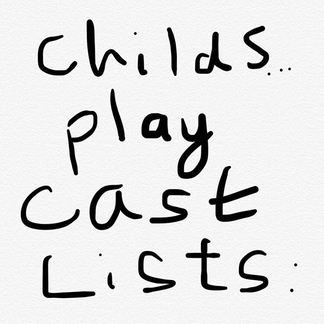 CHILDREN PLAY CAST LIST IS UP! Thanks to all who auditioned. Please check the remind for more info.