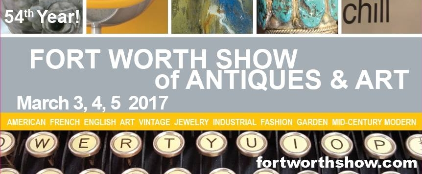 Fort Worth Show of Antiques & Art - Retro Revival Shop participated in the 54th annual show at the Will Rogers Memorial Center.