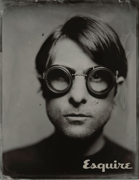 Tintype of Jason Schwartzman taken by Victoria Will at Sundance, 2015