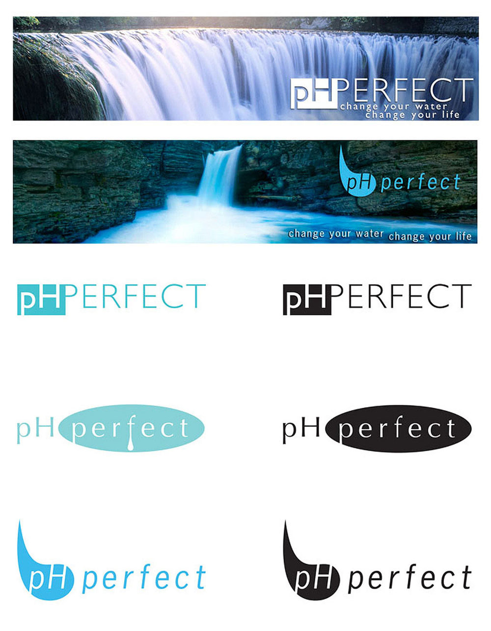 Banner and Logo Design for PH Perfect, 2010.