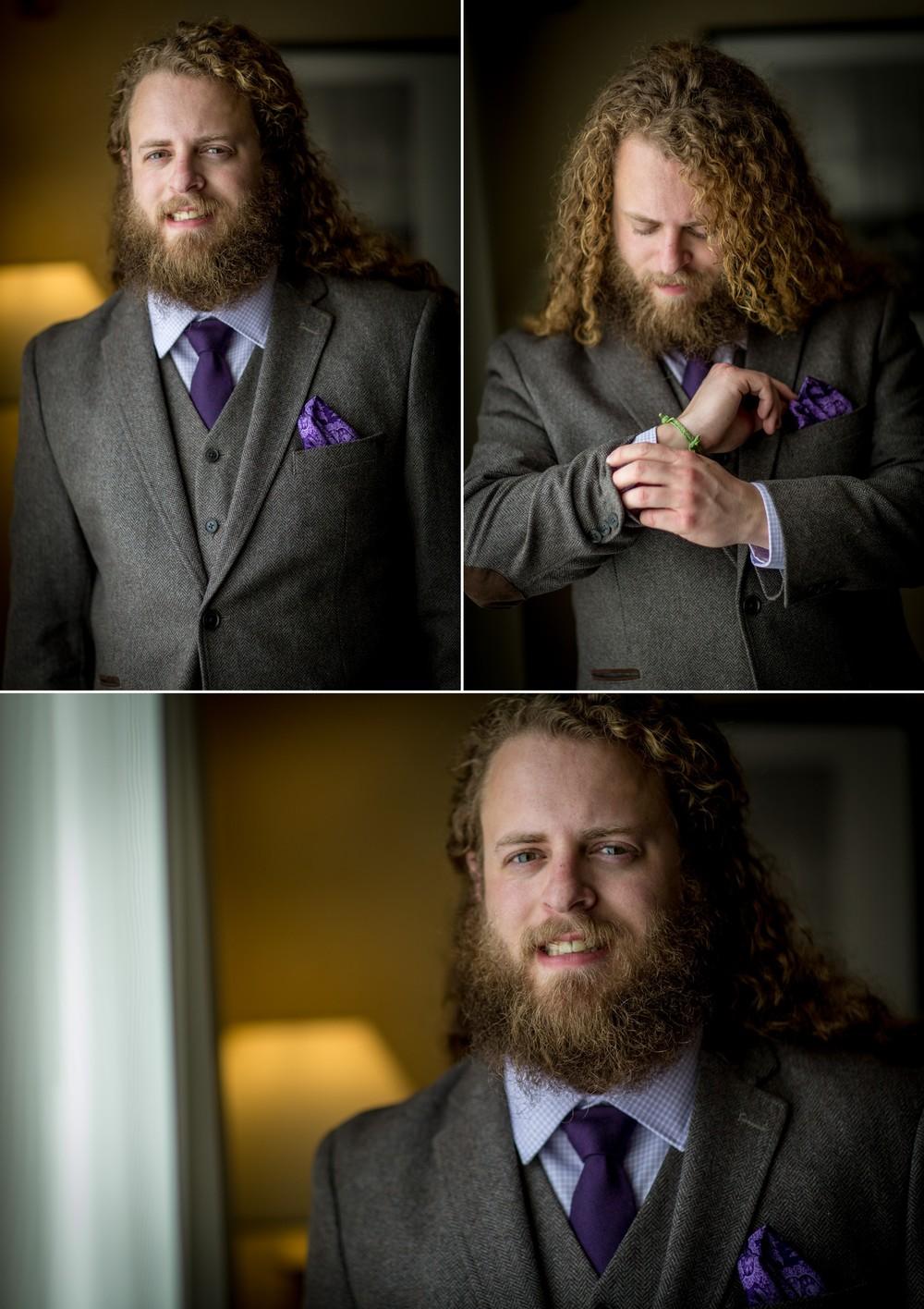 groom-getting ready-Ventura Beach Marriott Wedding