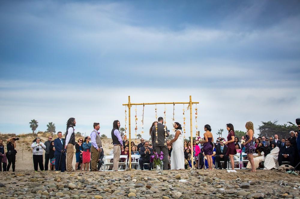 Ventura Beach Wedding