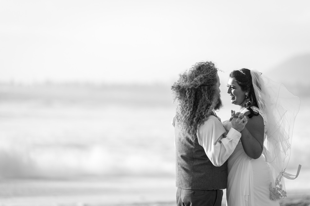 romantic wedding-Ventura Beach Wedding