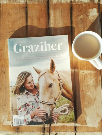 The first edition of Graziher, published by Claire Dunne, was sold out. Supplied: Claire Dunne Photo: ABC