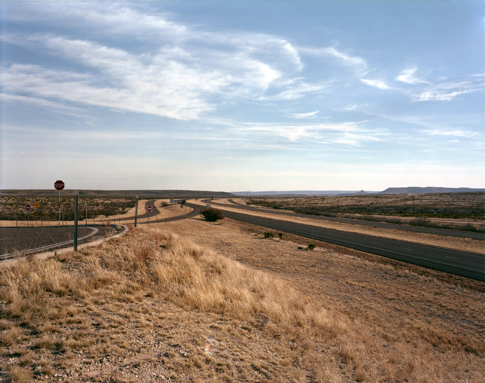 I-10 Looking East, Near Stockton, Texas