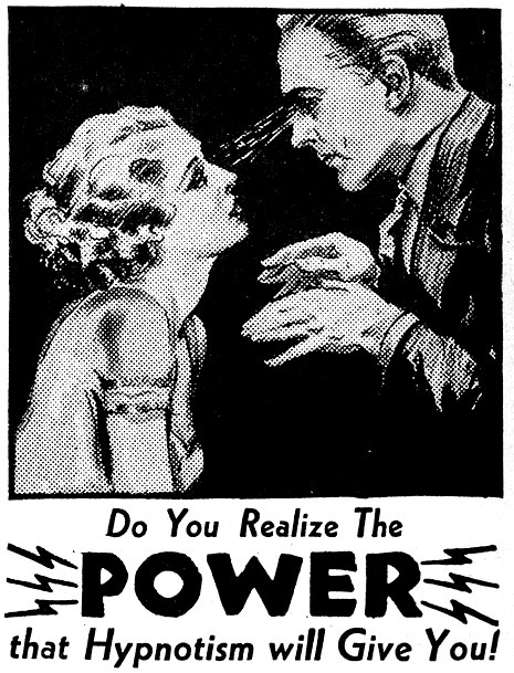 "furabo :      ""The POWER that Hypnotism will Give You!"""